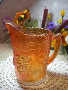 Imperial Carnival Glass Marigold Color Imperial by MyRetroCharm, $26.95