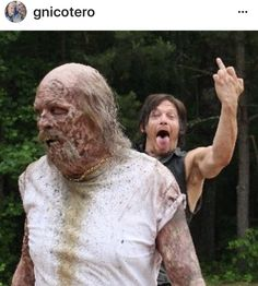 The Walking Dead Hilarity More ❤❤Daryl aka Norman! Carl The Walking Dead, The Walk Dead, Walking Dead Funny, Walking Dead Zombies, Twd Memes, Daryl Dixon Memes, Memes Humor, My Sun And Stars, Alan Walker