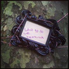 Jelena Vukas // Copywriter/Creative // Embroidered narrative on trees //