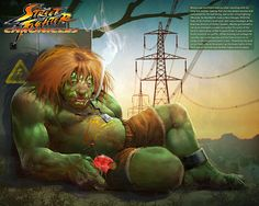 Garotas NerdsStreet Fighter - Ilustrações do Futuro dos Personagens - Garotas Nerds