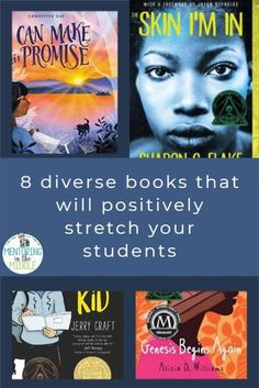 Our upper elementary and middle school students need to see themselves and their classmates in books. The ones in my blog post below are excellent for stretching us all to be more inclusive. Take a look and see if you can add some of these to your shelves! Guided Reading Groups, Reading Resources, Reading Strategies, Writing Activities, Middle School Teachers, High School, Teaching American Literature, Esl Lessons, Book Study