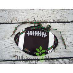 Football Lacing Card