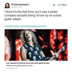 The @khdkelectronics pedals seem great but I don't think @kirkhammett knows a lot about other pedal companies :D 4000 brands on fxdb.com and lots of them were founded by guitar players who often also build the pedals themselves. #kirkhammett #metallica #effectsdatabase #fxdb #gearphoria #iheartguitar #pedalbuilders #pedalmanufacturers #geartalk #knowyourtone #toneheaven #gearnerds #gearwire #guitarpedals #guitareffects #effectspedals #pedals #guitarfx #fxpedals