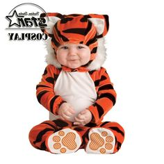 36.75$  Watch here - http://alio58.worldwells.pw/go.php?t=32695615747 - Natal Halloween Boys Girls Baby Costume Infant Animal Rompers Kids Clothing Jumpsuits Newborn Clothes Christmas Fall Winter Wear