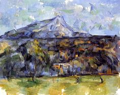 Mont Sainte-Victoire Seen from les Lauves - Paul Cezanne - 1902-1906