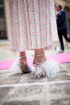 Street style at Paris Couture Week [Photo: Kuba Dabrowski]