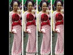Latest Ankara Aso ebi styles for Chic and bae by E-vastnaija