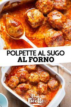 Polpette al Sugo al Forno Excellent to prepare on every occasion, the Meatballs with Baked Sauce are a second dish easy to make and perfect for those who love making shoes. Paprika Sauce, Meat Recipes, Healthy Dinner Recipes, Chicken Recipes, Healthy Finger Foods, Cooking 101, Light Recipes, How To Cook Pasta, Food Network Recipes