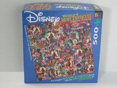 Amazon.com : Disney World's Most Difficult Jigsaw Puzzle: Villians : Ravensburger Disney Puzzle : Toys & Games