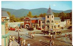 Undated Unused Postcard Gaslight Village Lake george New york NY Penny Arcade Lake George Ny, Lake George Village, Summer Vacation Spots, Penny Arcade, Fun Winter Activities, Lakefront Property, Lake Life, Best Vacations, The Great Outdoors