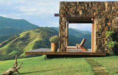 Casa de campo, san paolo - frank lloyd wright design