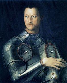 Agnolo Bronzino - Cosimo de' Medici - Firenze, Uffizi