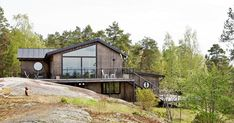 seventeendoors - Page 243 of 380 - Just another Lovely Life site Perfect Place, Beautiful Homes, House Design, Cabin, Contemporary, Landscape, Interior Design, Architecture, House Styles