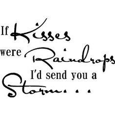 sayings, send, storm wall, raindrop, storms, quot, art wall, 1099, kisses