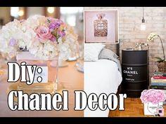 Como fazer decoração inspirada na Chanel – Customizando – Blog de customização de roupas, moda, decoração e artesanato