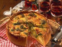 Broccoli-Schinken-Kuchen
