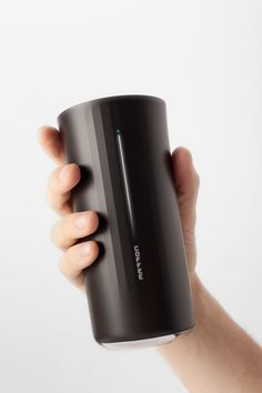Vessyl, a 13-ounce cup that recognizes any beverage you pour into it, displays its nutritional content, and syncs all your drinking habits to your smartphone.