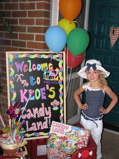 Candylan Birthday Ideas