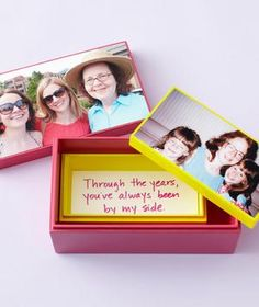 Show her the love with unique, personal, easy-to-create sentiments.