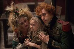 The Cast: Sacha Baron Cohen and Helena Bonham Carter M. Thénardier (Sacha Baron Cohen and Helena Bonham Carter) are the thieving, abusive innkeepers who begrudgingly care for young Cosette until Valjean takes her away. Sacha Baron Cohen, Helena Bonham Carter, Anne Hathaway, Les Miserables Movie, Les Miserables 2012, Jean Valjean, High School Musical, Amanda Seyfried, Step Up