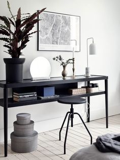 Ikea 'Stockholm' console table - You can't buy it anymore here in Switzerland.