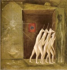 leonora carrington - 'the floor 4706th' (1958). carrington was a british-born mexican surrealist who died earlier this year (2011).