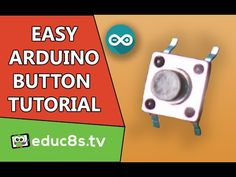 Arduino Tutorial: The easiest way to connect a button to Arduino - YouTube