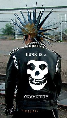 punk. Unfortunately, I believe this is photoshopped.