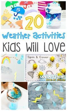 20 Weather Activities Kids Will Love - Busy Moms Helper