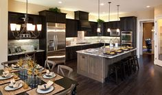 Toll Brothers Kitchen