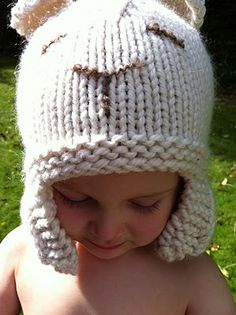 LOVE this quick hat pattern.