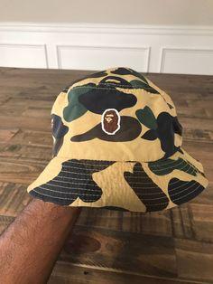 c0a88d06879 Bape Bape Bucket Hat Size one size - Hats for Sale - Grailed Hats For Sale