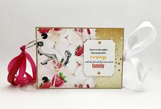 Personalized Bridal Shower Scrapbook Album Bride Tribe Photo