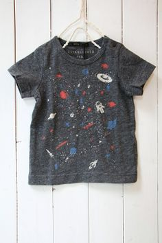 [Continue] heather jersey T-shirt universe / charcoal (17) - 100% picnic.