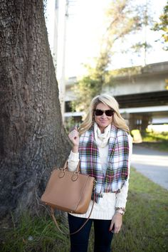 Holiday Sweater and Blanket Scarf Weather with Red Hunter Holiday Boots
