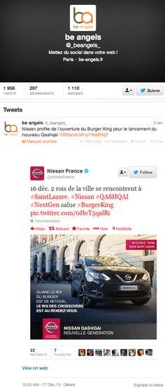 Deux rois à Saint-Lazare, ça fait Twitter.