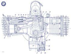 technical drawing   Fallschirmjäger.net - BMW R-71 Technical Drawings