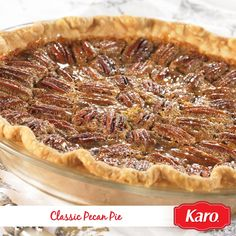 Nothing beats a Classic Pecan Pie recipe for dessert when you're baking for Thanksgiving.