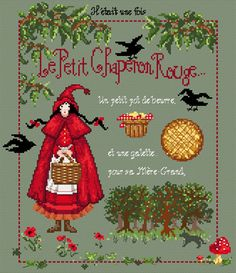 Le Petit Chaperon by Madame La Fee $30.99 at ABC Stitch