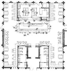 Cafe Floor Plan, Restaurant Floor Plan, Restaurant Layout, Hotel Floor Plan, Modern Restaurant Design, Cafeteria Design, Resort Plan, Interior Design Degree, Bar Plans