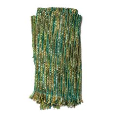 Hand-woven Emma Multi-colored Throw Blanket With Fringe $56.69