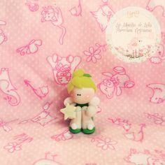 #Souvenirs #princesasdisney #tinkerbell #porcelanafría #biscuit #coldporcelain #handmade #cute