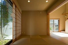 tatami room Japan Architecture, Interior Architecture, Interior And Exterior, Interior Design, Interior Ideas, Traditional Japanese House, Japanese Style, Tatami Room, Japanese Interior