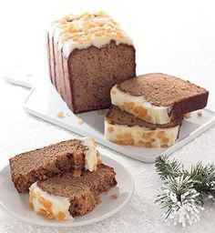 Inspired by Starbucks Holiday Gingerbread Loaf, this cake is quite similar to the one sold there. However, I'm not going to say it's an exa...