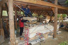 Jinny Whitehead Process of Wood Firing Pottery
