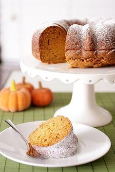 Pumpkin Pound Cake. Oh my!