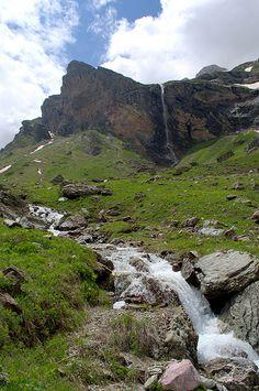 Korab waterfall in the western part of Macedonia