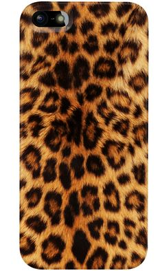Go wild leopard style. Design you own phone case for iPhone, Samsung and more.