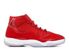 Air Jordan Retro 11 Basketball Men's Shoes (12 US, Red/White)