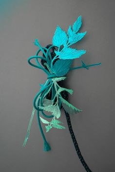 Plants Out of Place - Studio Fludd Wild Bull, Milk Magazine, Amaranthus, Morris, London Design Festival, Tea Art, Everyday Objects, Turquoise, Creative Photography